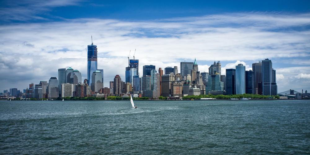 Sailing to New York City