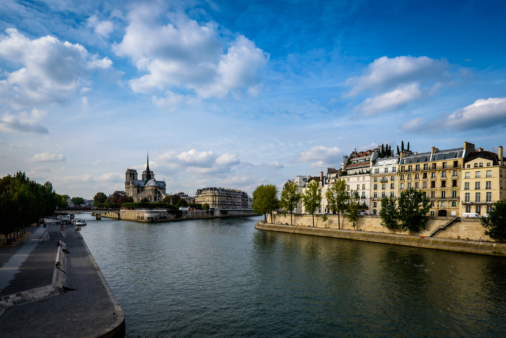 Along the river Seine