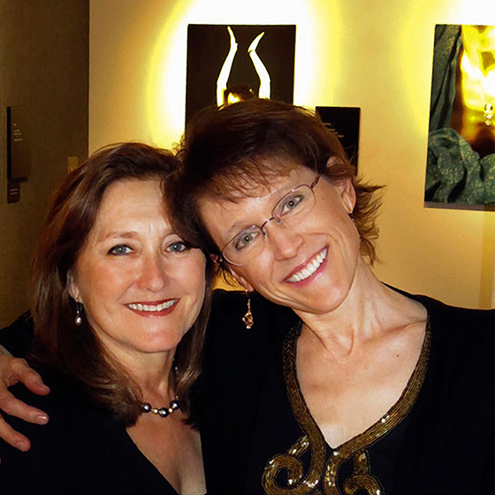 Wendy Palmer and Kimberly Myers