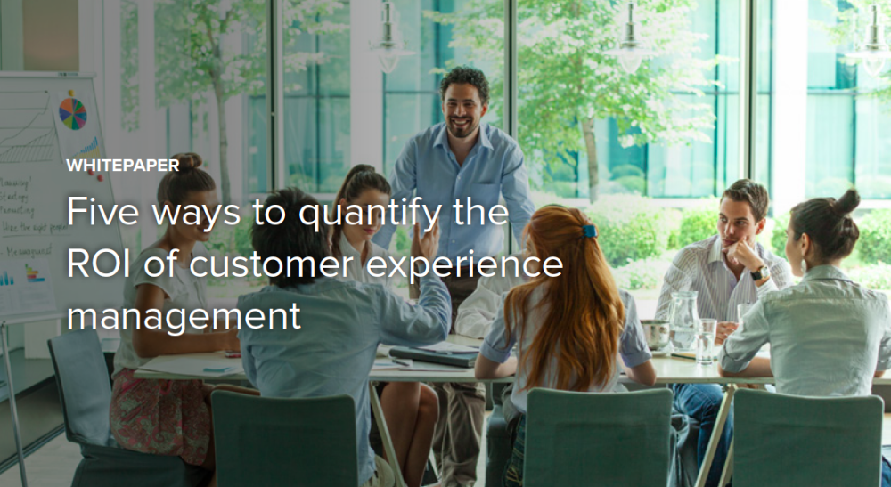 Quantify the ROI of Customer Experience