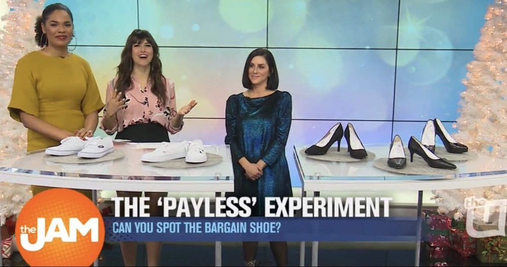 "The ""Payless Experiment"" on The Jam"
