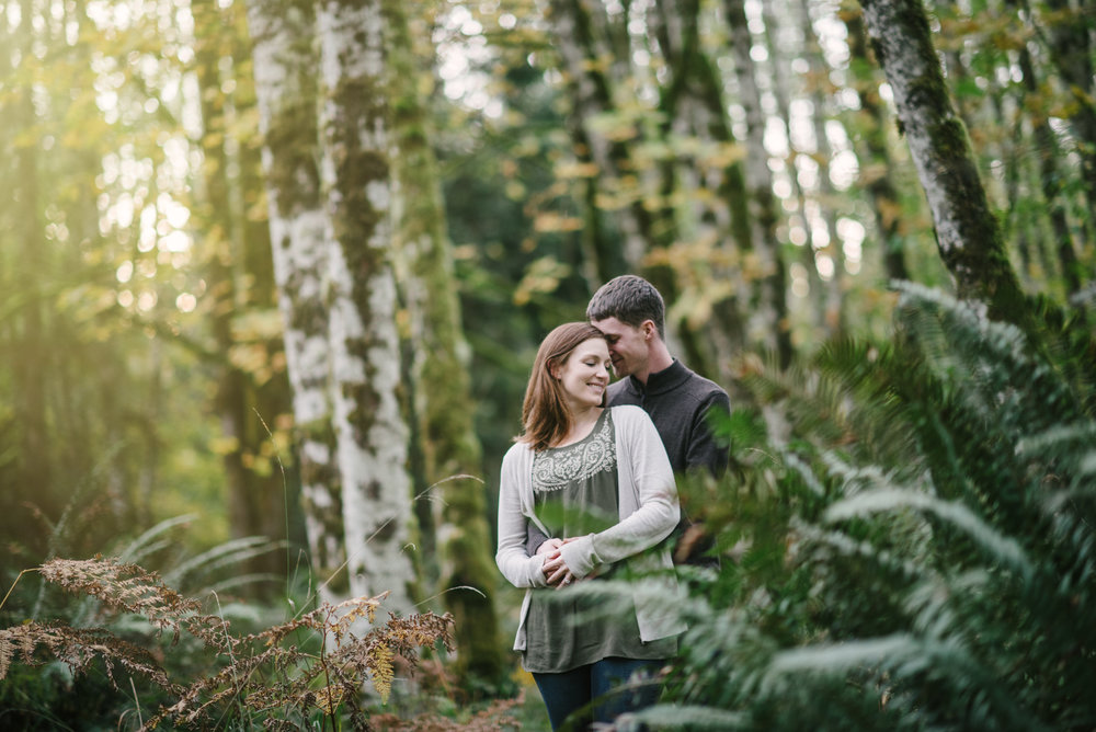Pacific northwest nature engagement photos