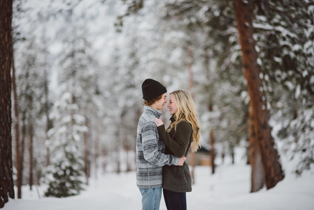 Seattle winter engagement photos pacific northwest