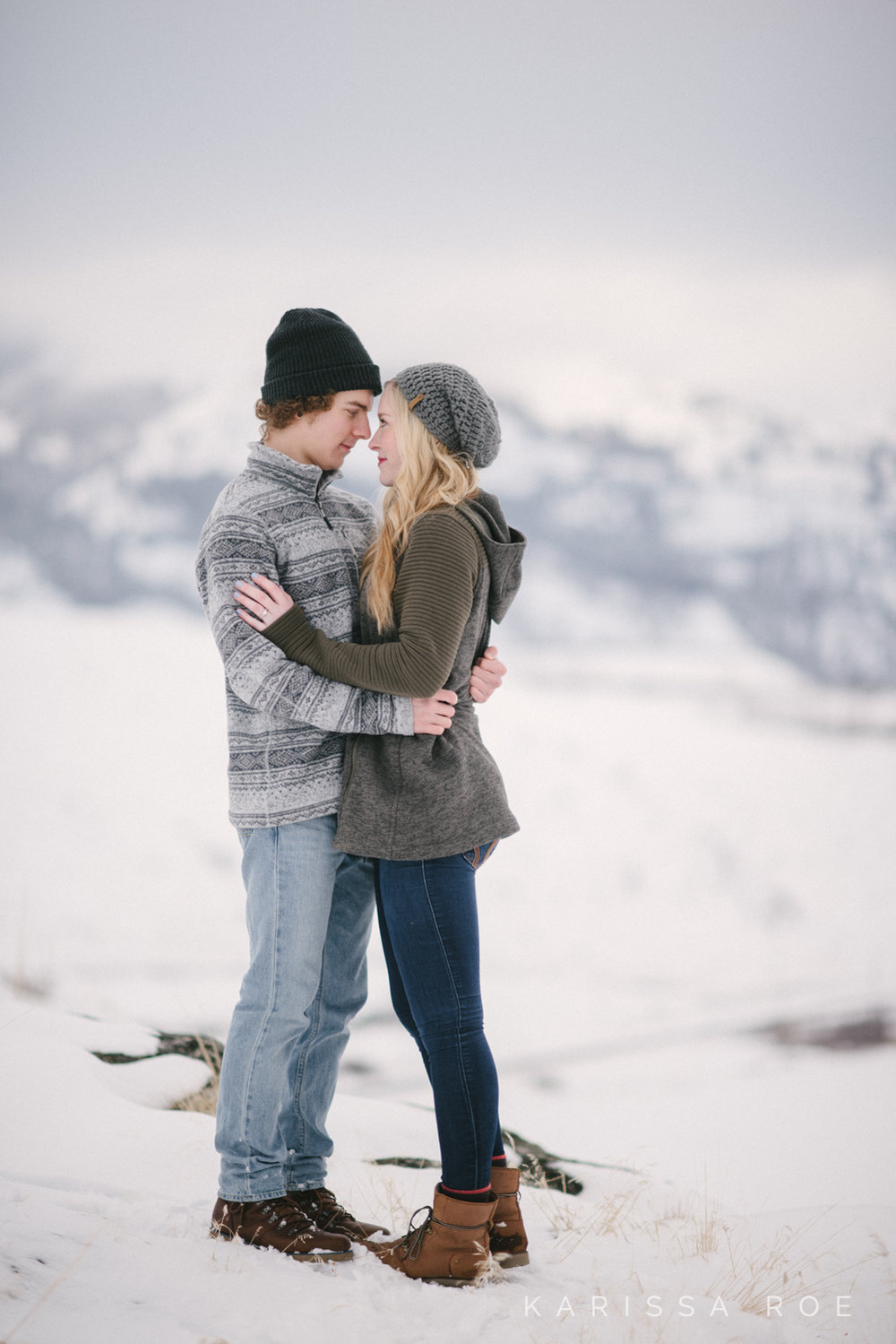 snowy mountain winter engagement lake chelan karissa roe photography-20.jpg