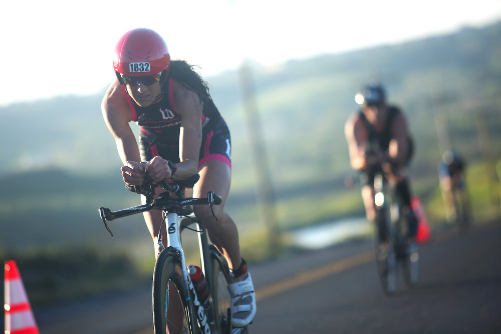 Phelan at Oceanside 70.3 earlier this year (photo Jay Prasuhn)