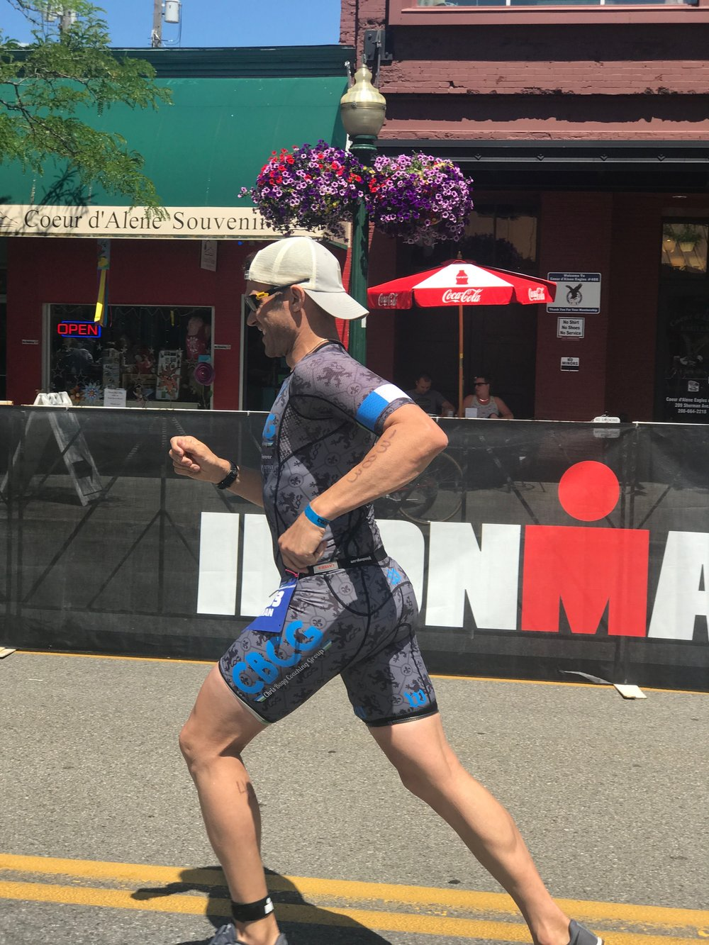 Another PR: CBCG Athlete Roman Gratteri at CDA 70.3