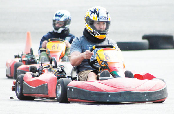 Go Karts are available just a few minutes walk from the famed race course in Penticton, B.C. Photo courtesy Penticton Herald News