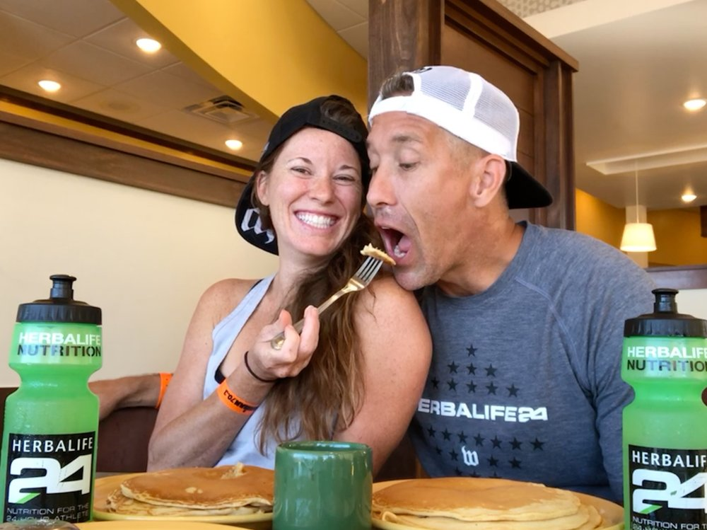 CBCG athletes Doris Steere & Marc Nester courted over pancakes, and now they're soon to be married!