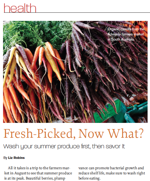 Fresh-Picked, Now What_Liz Robins_Organic Spa Magazine