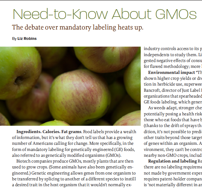 Need-to-Know About GMOs_Liz Robins_Organic Spa Magazine