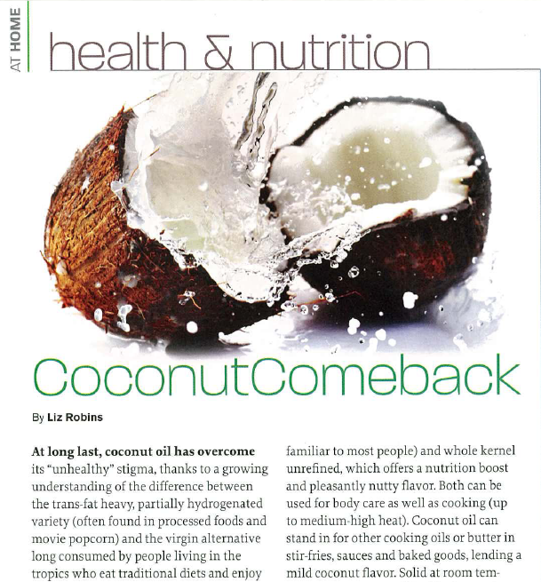 Coconut Comeback_Liz Robins_Organic Spa Magazine