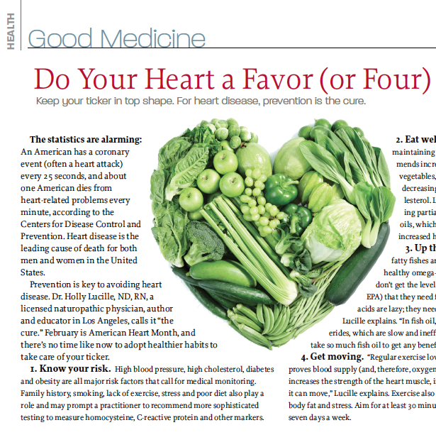 Do Your Heart a Favor (or Four)_Liz Robins_Organic Spa Magazine