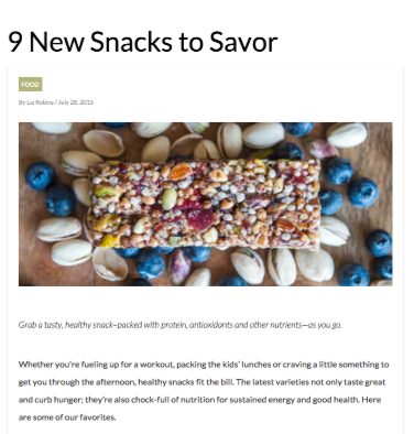 9 New Snacks to Savor_Liz Robins_Organic Spa