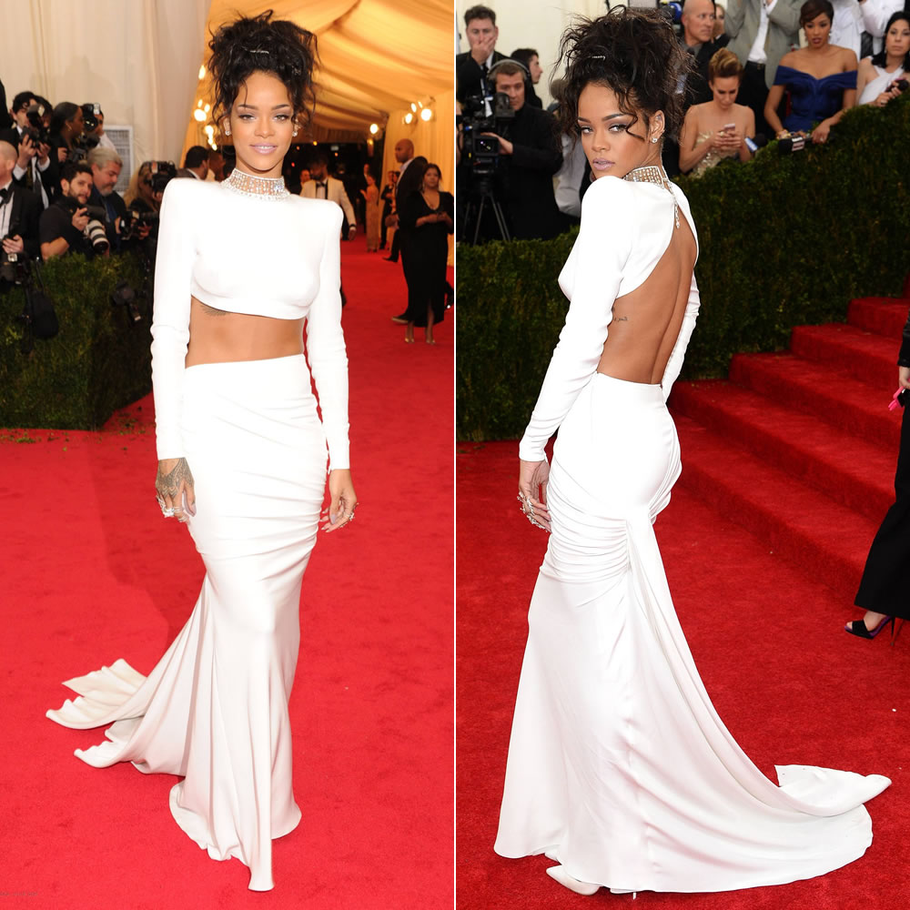 Rihanna in Stella McCartney 2014