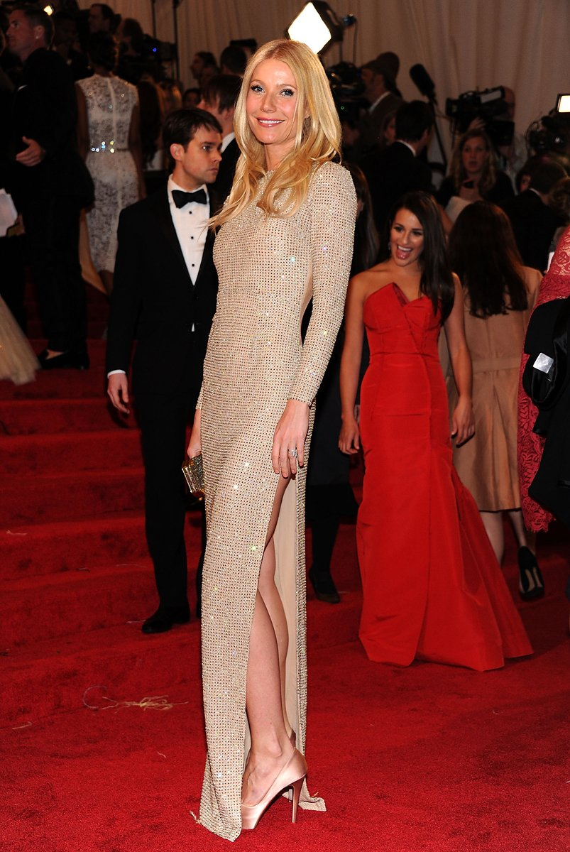 Gwyneth Paltrow in Stella McCartney, 2011 *via Vogue.com*