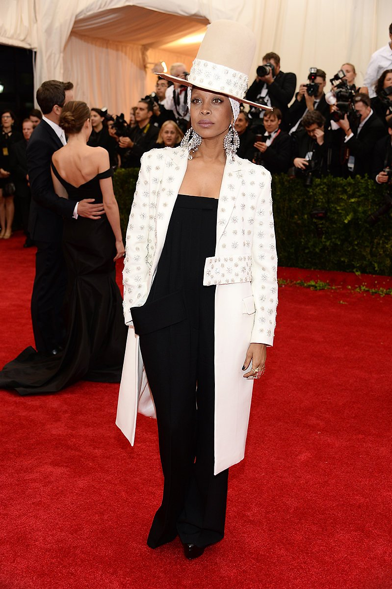 E. Badu in Givenchy, 2014
