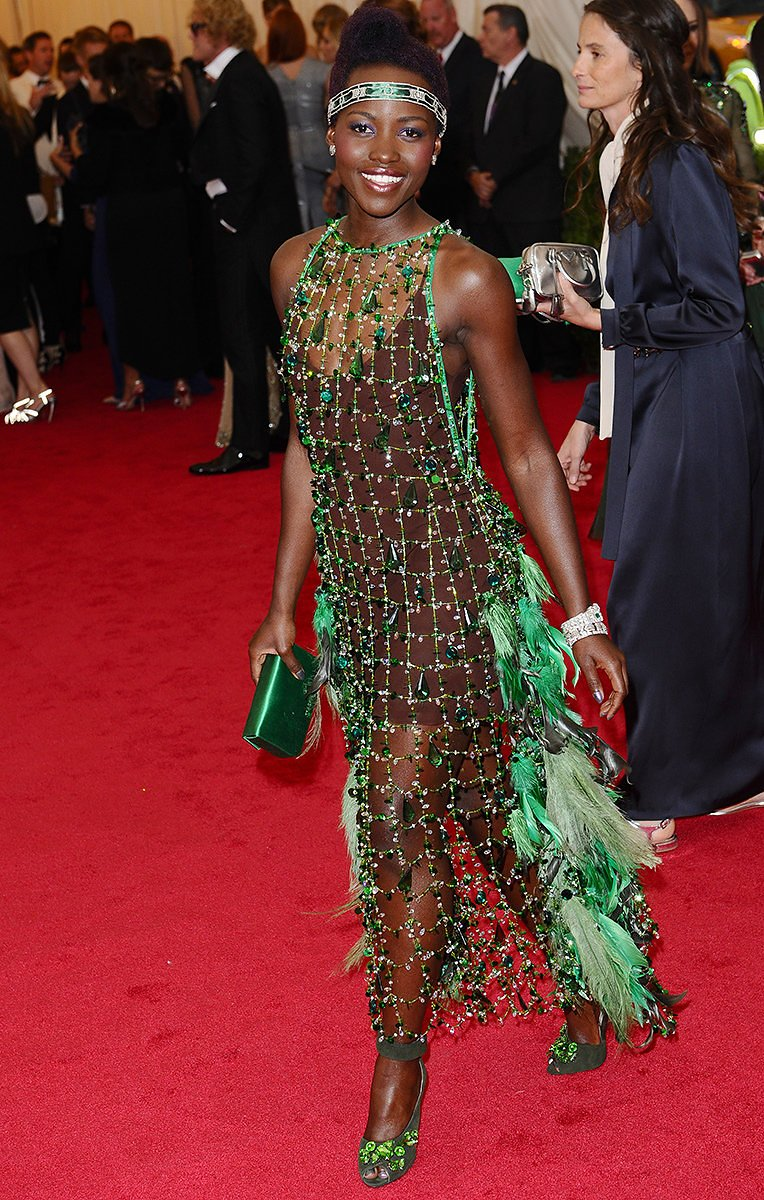 Lupita in Prada, 2015 *via pinterest*