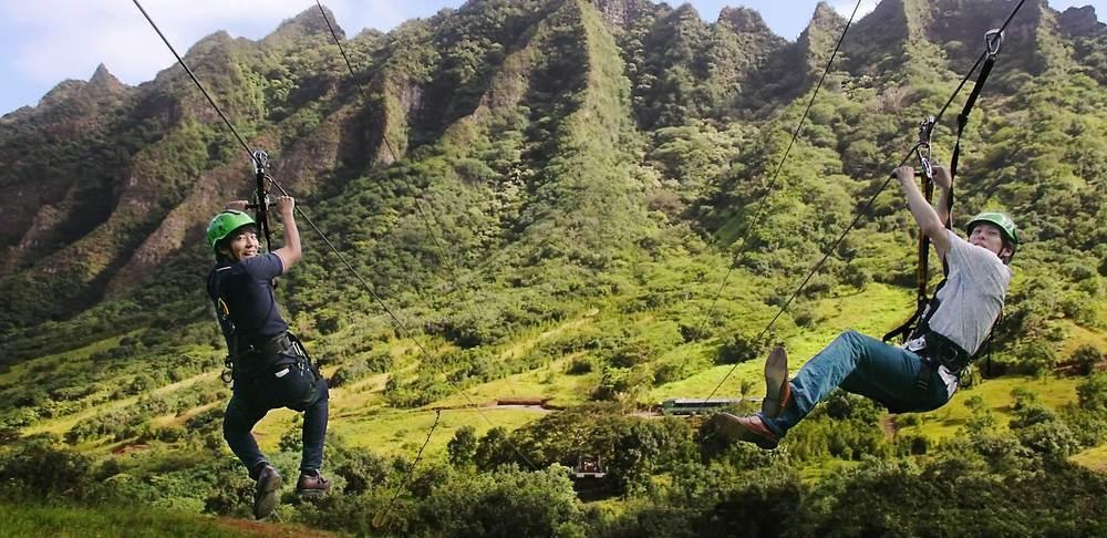 Ziplines & Ropes Courses   Better Photos... More Photos... More Revenue.              Kualoa Ranch, Oahu, HI