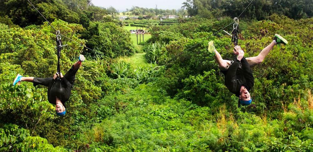 Ziplines & Ropes Courses   Better Photos... More Photos... More Revenue.              Climbworks Keana Farms, Oahu, HI