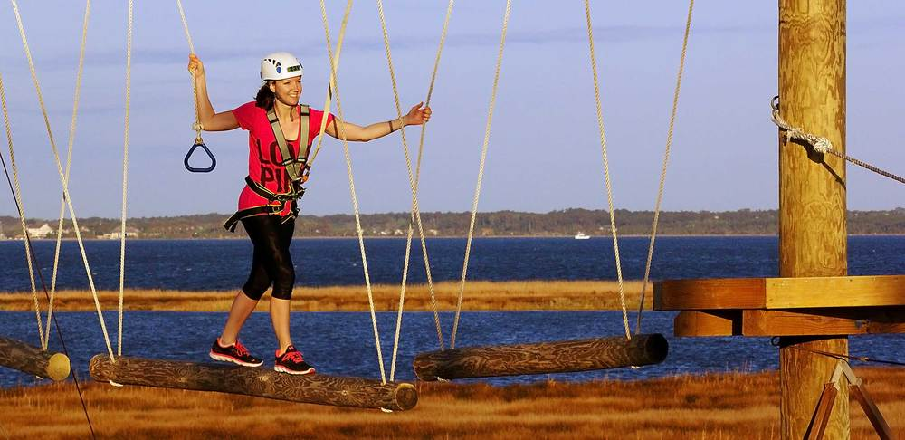 Ziplines & Ropes Courses   Better Photos... More Photos... More Revenue.                    First Flight Adventure Park, Outer Banks, NC