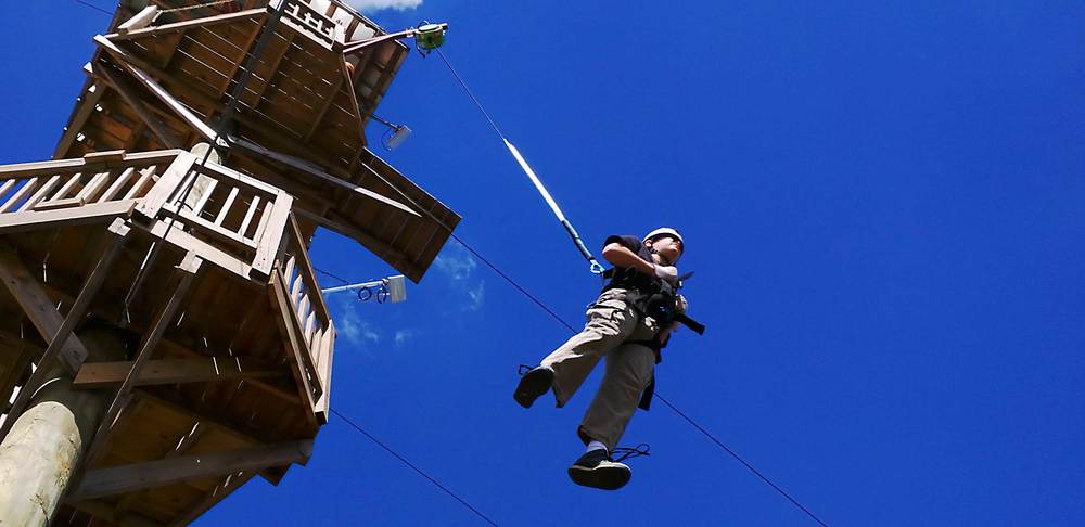 Ziplines & Ropes Courses   Better Photos... More Photos... More Revenue.              Screaming Raptor Zipline, Petersburg, KY