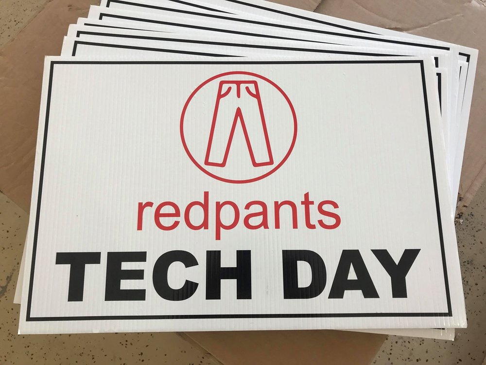 Redpants Tech Day signs.jpg