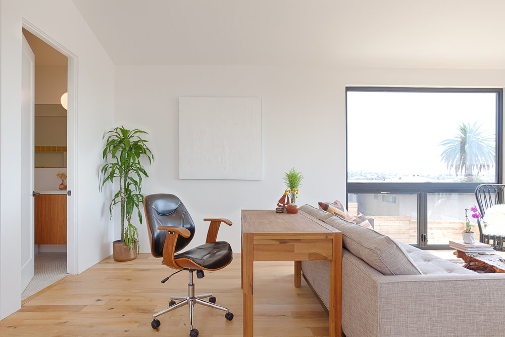 The open floor plan of the Waterloo ADU creates flexibility and space.