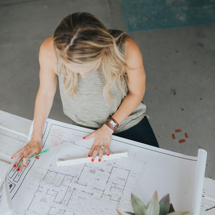 Annie B. Design floor plan review