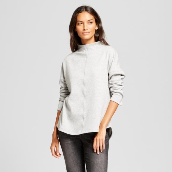 Target Tunic Sweatshirt
