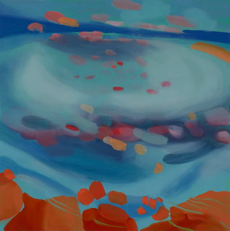 Untitled, oil on canvas, 48''x48'', 2015