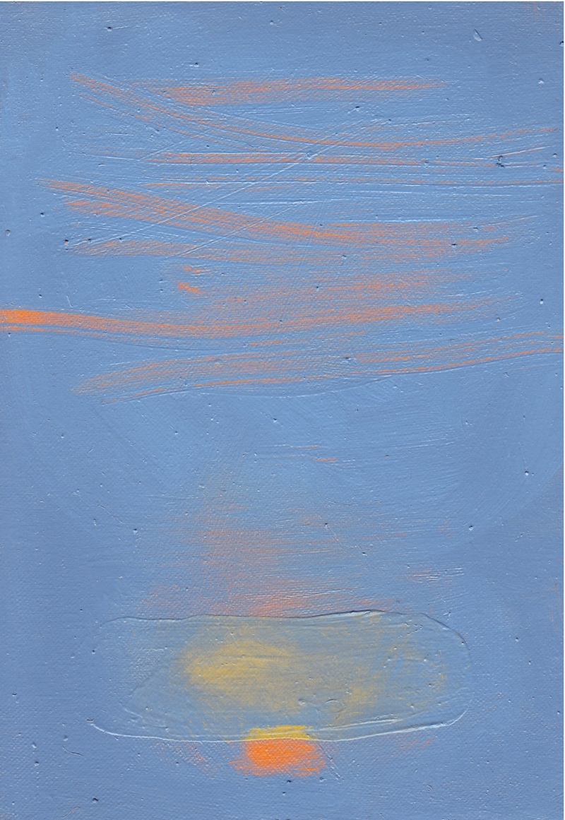 Ti, 10''x6'', oil on canvas, 2014