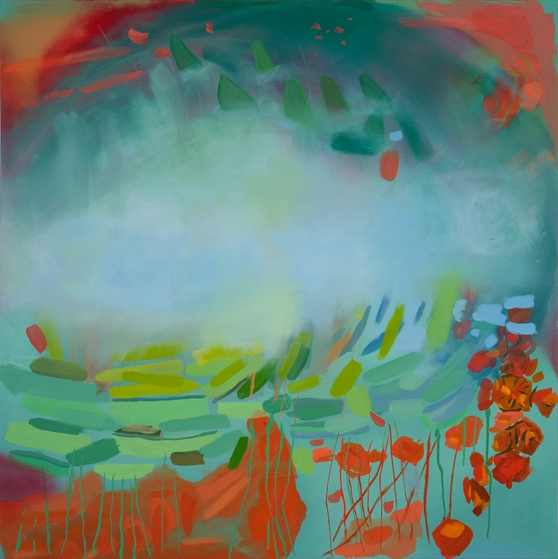 Sonarita, 48''x48'', oil on canvas, 2012