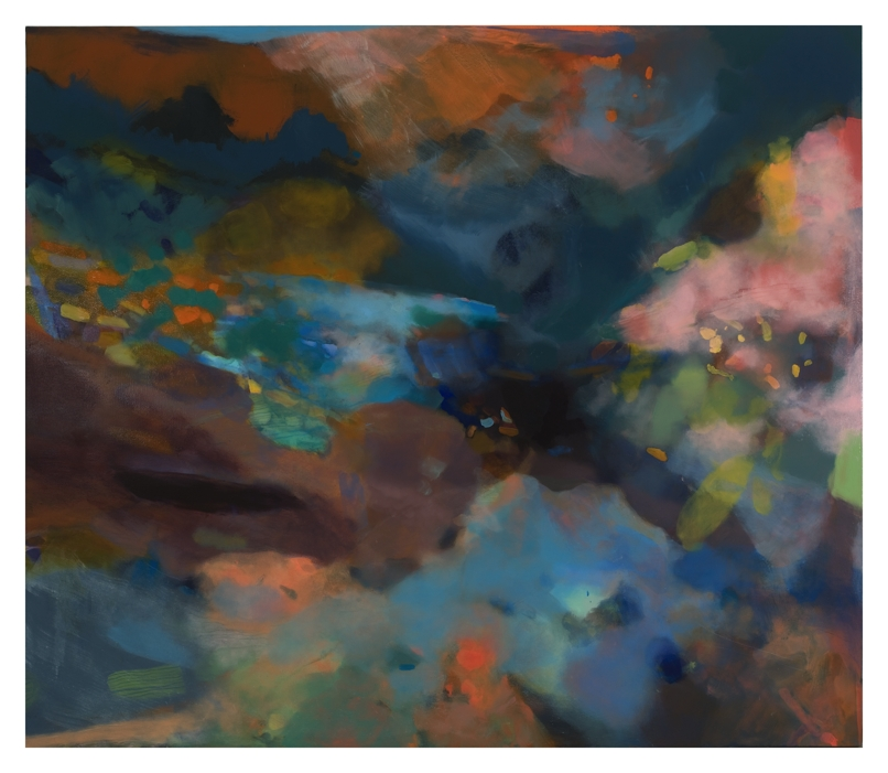 Soprano Anacamptic, 96''x84'', oil on canvas, 2011