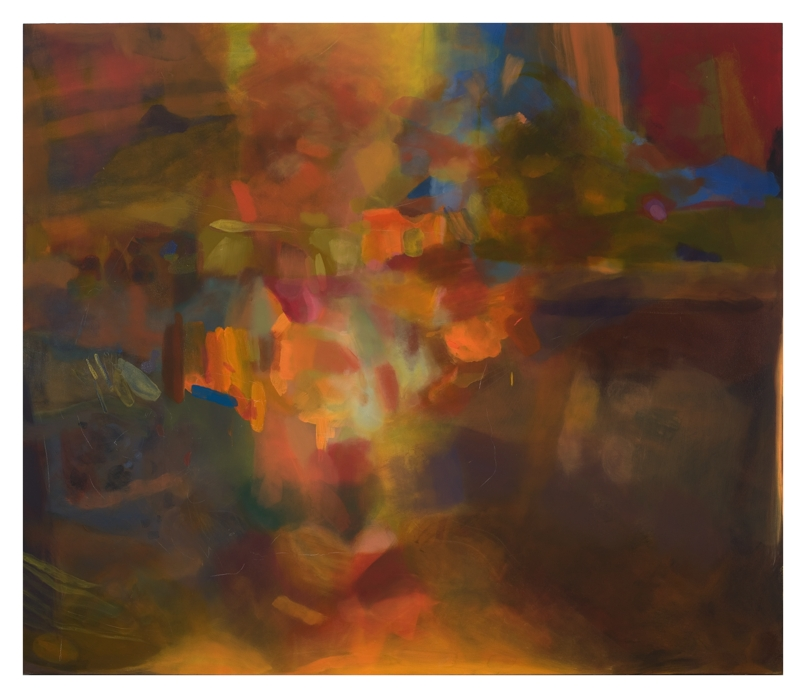 Alto Anacamptic, 96''x84'', oil on canvas, 2011