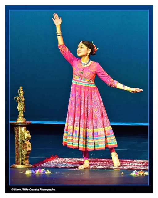 A still of me performing Hari Smarane Mado (Think of Krishna Always) at our 2015 Performance, in the Mejuvani storytelling style of the devadasis (temple dancers).    SAINT LOUIS ART MUSEUM   Gallery Talk 11:00 AM   Thursday, January 5, 11 am Friday, January 6, 6 pm   The Great Dance of the Universe: Movement, Myth, and Meaning in Indian Art  Nartana Premachandra, author and classical Indian dancer  Sculpture Hall. Free. Space may be limited in smaller galleries; please arrive early   St. Louis Art Museum Designing Nature  at Family Sundays in April  By  SLAMDMM  | April 1, 2016  Join us every Sunday in April and discover how people across the world celebrate the beauty of nature through the production of art. Natural motifs are used to decorate everything from prayer rugs and household objects, to the personal regalia of kings. During Family Sundays: Designing Nature, we will explore the Museum's collection of Islamic and Indian art with hands-on activities and family tours that combine art and nature.   Sunday, April 3, 10, 17, and 24 1:00–4:00 pm; Family tour at 2:30 pm   Special Family Sunday events this month also include:  Storytime in the Galleries  Sunday, April 10, 2:00 pm   Indian Folktales  Led by Nartana Premachandra—writer, classical Indian dancer, and president of  Dances of India .    My workshop at the St. Louis Art Museum:     A MOSAIC OF MANY HEARTS: LITERATURE, MYTH, AND IDENTITY IN THE INDIAN SUBCONTINENT   Wednesday, December 2, 2015 5:00 pm - 8:00 pm  Vast and varied, the Indian subcontinent has been shaped over several millennia by literature, myth, and religion. In this multidisciplinary workshop, we will discuss how these cultural and spiritual expressions have influenced the richly textured identity of India. Topics will include a brief introduction to classical Indian literature and Hindu myth, with a discussion of some Buddhist myth, and a demonstration of classical Indian dance. Teachers will learn basic  mudras , or hand gestures, of Indian dance that animate both the dancing body as well as many Hindu and Buddhist sculptures. In addition, we will relate what we have learned to sculpture and objects in the Hundu, Buddhist, and Islamic art galleries and will engage in ekphrastic poetry. These layered interactions will enable teachers to gain an understanding of the lively diversity that informs the Indian imagination.  Led by Nartana Premachandra, writer, performing artist, public speaker, and President of Dances of India   PRE-REGISTRATION IS REQUIRED.