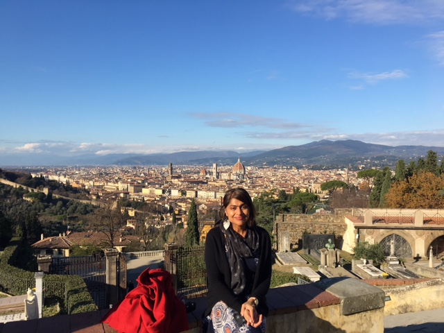 From a recent trip to Florence, where one of my favorite films of all time was filmed, Room with a View, from 1986.