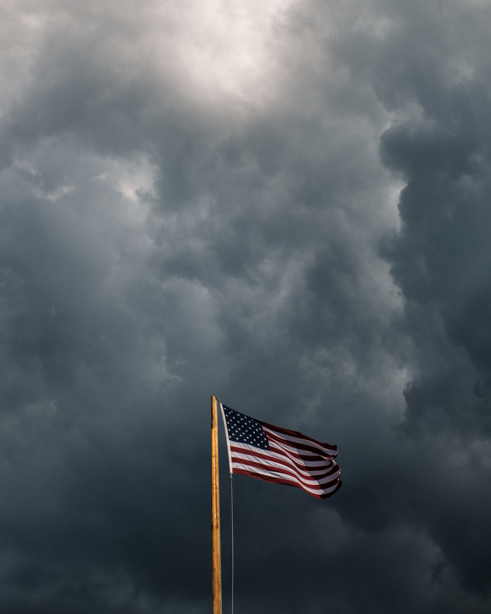 Flag before the storm