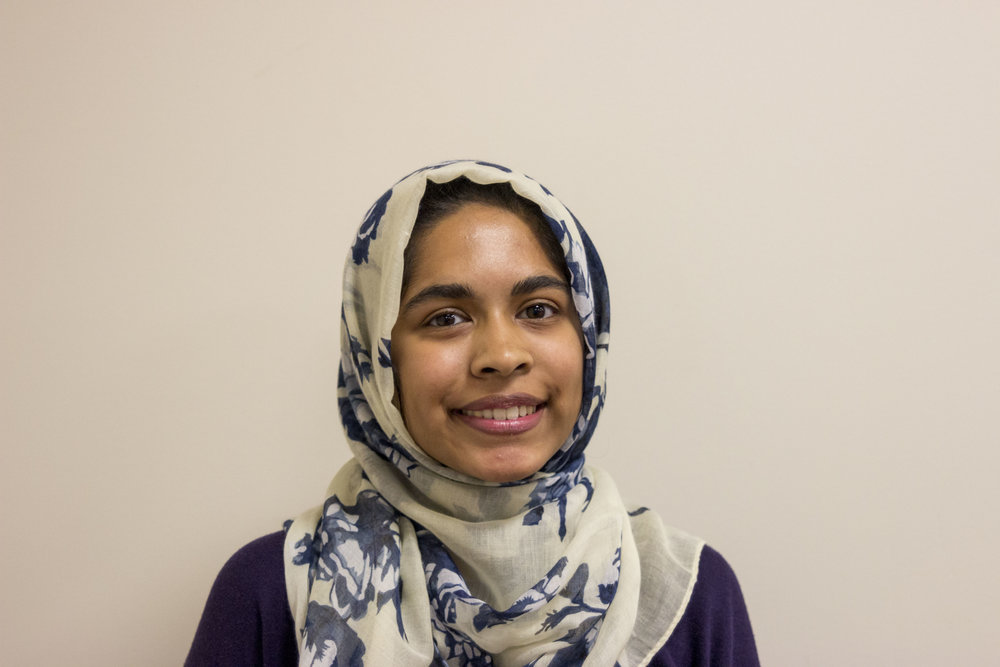 hira ali - competitions co-chair