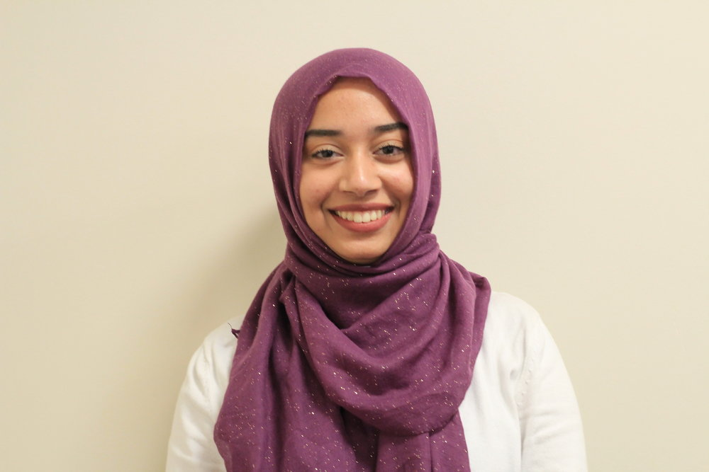 tehniyat farooq - volunteer co-chair