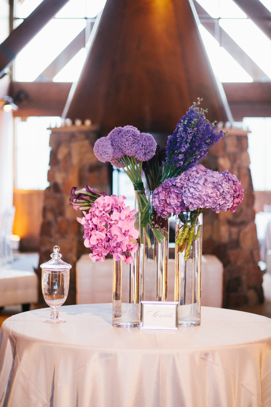 Contemporary Purple & Lavender Display
