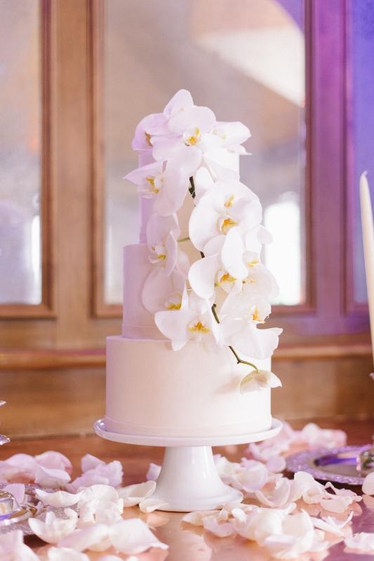 Phaleonopsis Orchids Cake Décor