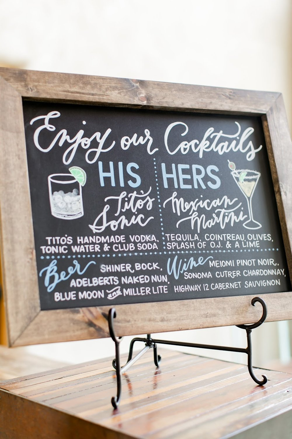 Chalkboards & Signage - Click to view our Chalkboards and Other Signage, including our specialty, on-site Chalkboard Walls