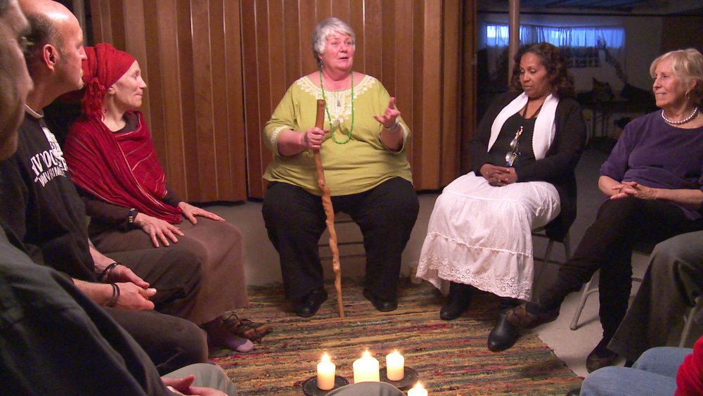 Janet participates in Side by Side circle for ex-offenders.