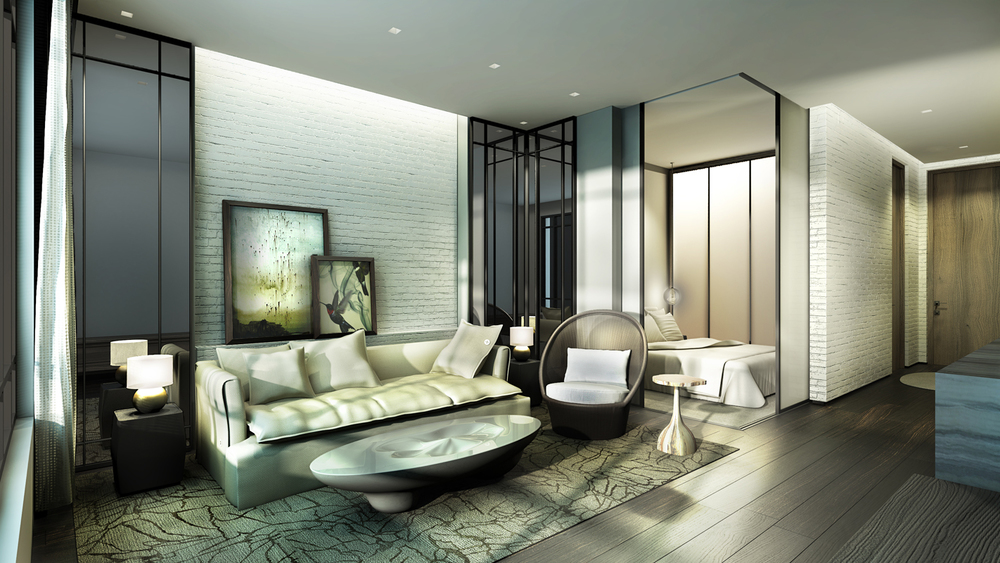 Hamilton Private Residence |Living Room | Junior Studio