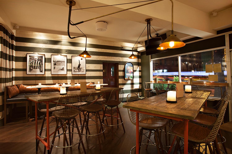Bar felice nyc interior design studio robert mckinley for Interior design services nyc