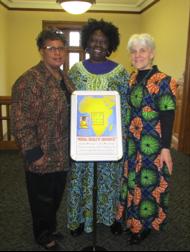 Rev. Dr. Deborah Blanks at Murray Dodge Hall, Princeton Universit