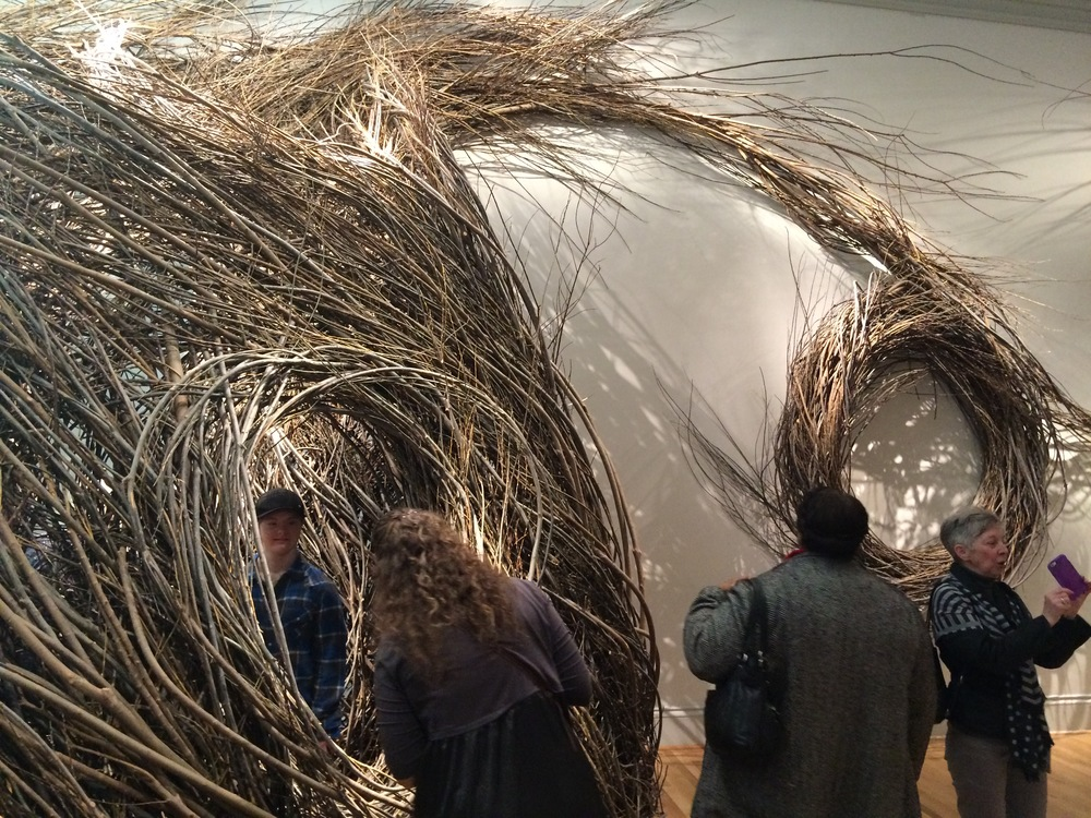 "Patrick Dougherty, ""Shindig"""
