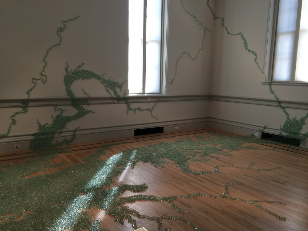 "Maya Lin, ""Folding the Chesapeake"""