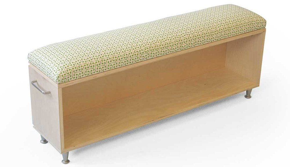 """On The Move"" Benches With Storage"