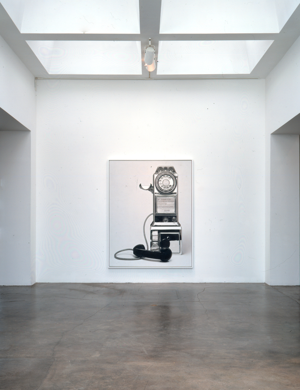 Installation of Untitled No. 26 (2003, Forum Gallery, Los Angeles)
